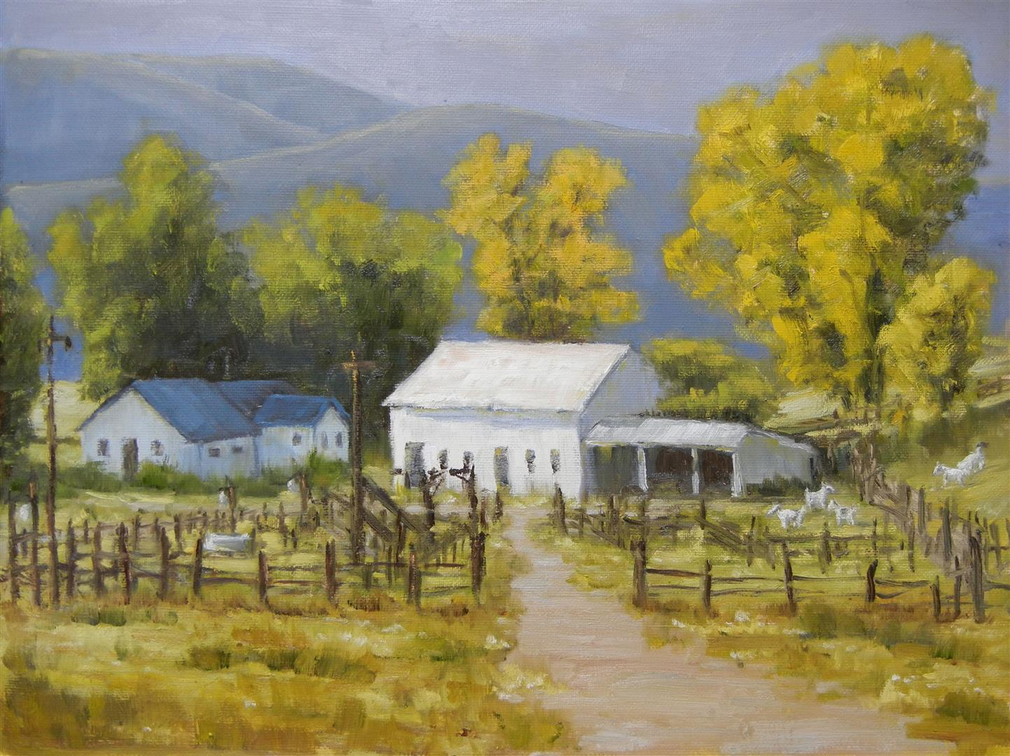 A Colorado Ranch 12x16
