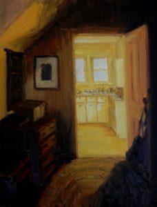 Greta Balzer Yellow Kitchen 12 x 14